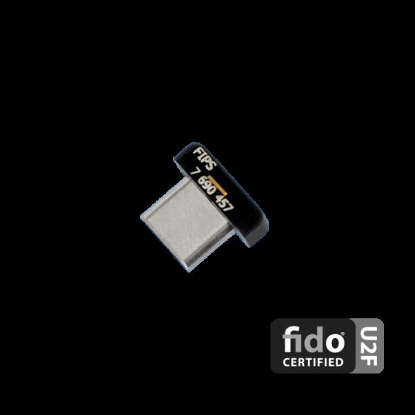 YubiKey C Nano FIPS ззаду