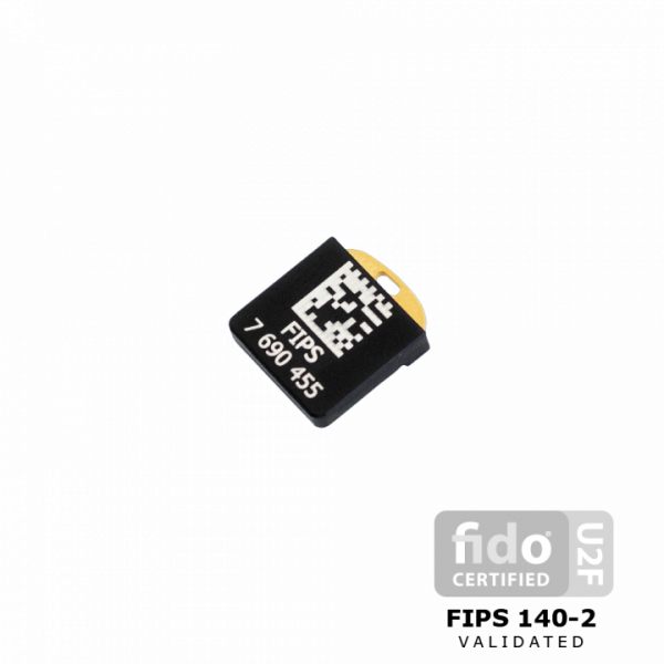 YubiKey Nano FIPS back